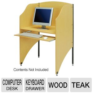 Computer Desk Privacy Booth