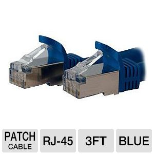 StarTech.com Shielded Cat6a Molded STP Patch Cable