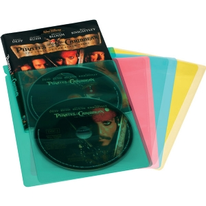 25PK COLOR MOVIE/GAME SLEEVES