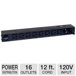 CyberPower Basic Series PDU30BT8F8R - power