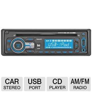 CD/MP3 RECEIVER IPOD