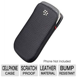 BlackBerry Leather Pocket - case for cellular