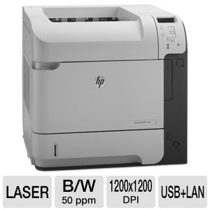 HP LaserJet Enterprise M602dn - printer - B/W