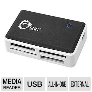 SIIG USB 2.0 Multi Card Reader - card reader