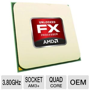 AMD FD4130FRW4MGU FX-4130 Black Ed. Quad-Core CPU