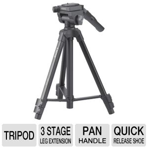 VCT-50AV TRIPOD WITH REMOTE