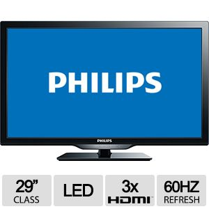 "PHILIPS 29"" Class Smart LED HDTV - 29PFL4908/F7-RB"