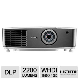 BenQ W1500 DLP Home Theater Wireless Projector