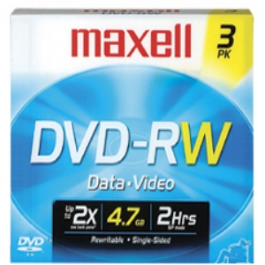 MAXELL DVD-RW 2X SPEED