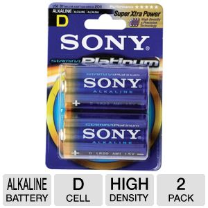 SONY D ALKALINE BATT