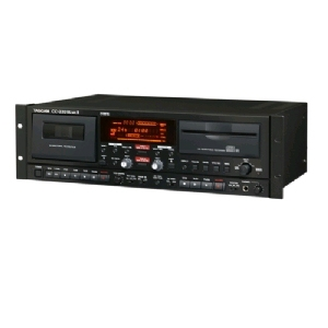 TASCAM CD RECORDER AND