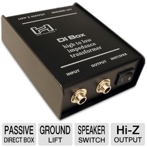 HOSA PASSIVE DIRECT BOX