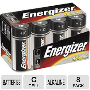 ENERGIZER C SIZE