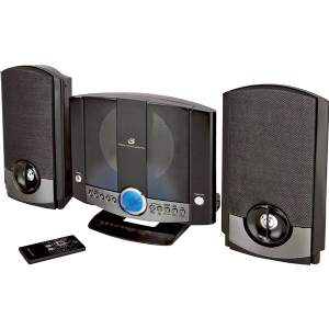 GPX HOME MUSIC SYSTEM BLACK