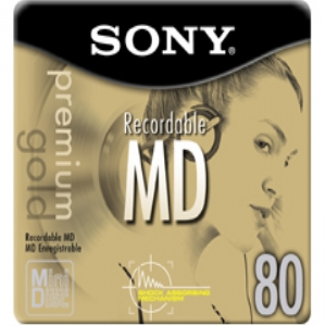 SONY 80 MIN RECORDABLE
