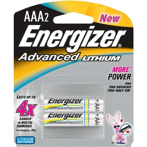 ENERGIZER LITHIUM AAA 2 PACK
