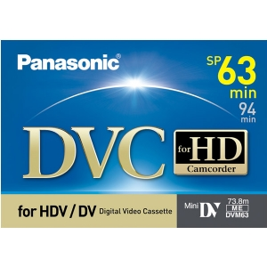 PANASONIC HD DVC TAPE
