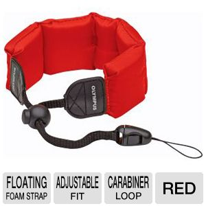 OLYMPUS FLOAT STRAP RED USED W