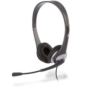 Cyber Acoustics AC-201 Stereo Headset with Mic