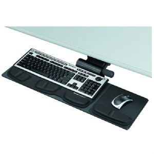 Fellowes Professional Series Black Keyboard Tray