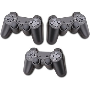 M-Gear Brand Wired Controller for PS3 - 3 Pack