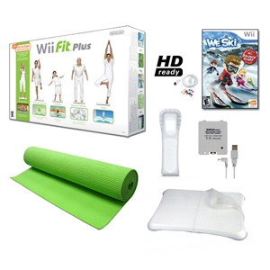 Nintendo Wii Fit Plus WII-FIT-PLUS-SKI-FUN &quot;Ski Fu