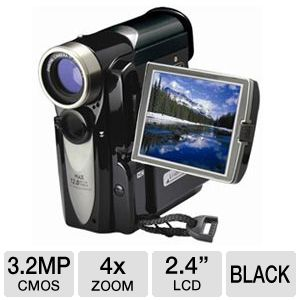 Mitsuba 3.2MP 4x Digital Zoom HD Camera/Camcorder
