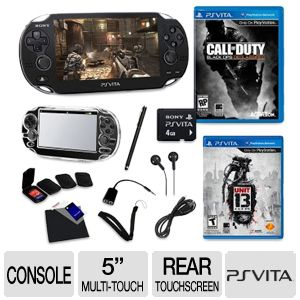 "PS Vita 5"" Multi-touch Screen COD Game Bundle"