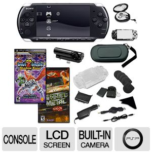 Sony PSP-3000 2 Games Bundle