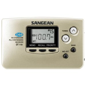 Sangean Portable Pocket Radio