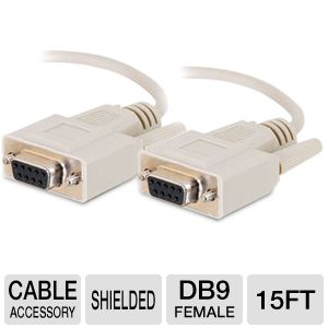 Cables To Go 15-Foot DB9 Cable
