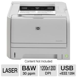 HP LaserJet P2035 - printer - B/W - laser