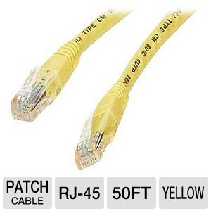 StarTech.com Molded Cat6 Crossover UTP Patch Cable