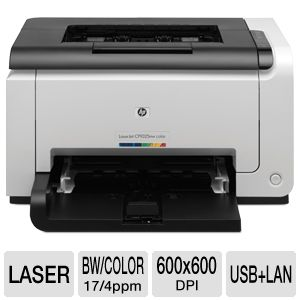 HP Color LaserJet Pro CP1025nw - printer - color