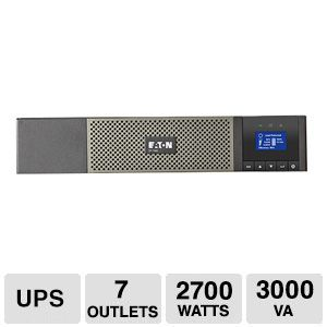Eaton 5P 3000VA 120V Rackmountable Tower 2U UPS