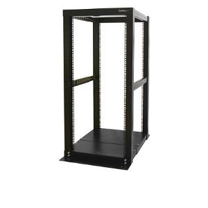 StarTech 25U 4 Post Open Frame Rack
