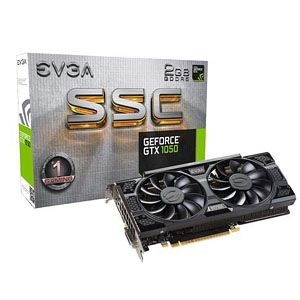 EVGA GeForce GTX 1050 SSC Gaming Graphics Card
