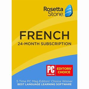 Rosetta Stone 24-Month French with Download