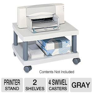Safco Products Wave Desk Side Printer Stand