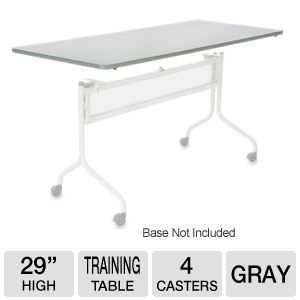Mobile Training Rectangle Table Top only (Base Sol