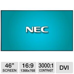"NEC X462UN MultiSync 46"" Large LCD Display"