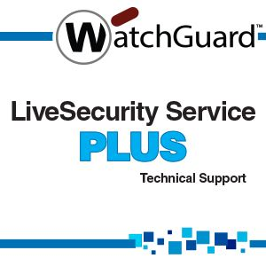 WatchGuard LiveSecurity Service Plus - technical