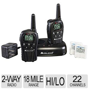 Midland 22 Channel GMRS Radios LXT500VP3