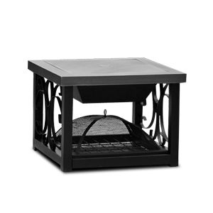 Well Traveled Living Square Old World Fire Pit