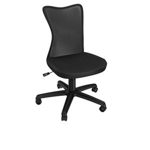 Z-line Dorm Room Black Mesh Chair
