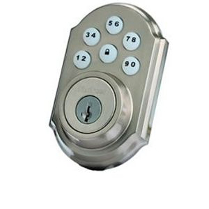 Zwave Satin Nickel Kwikset Lock