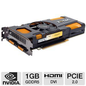 ZOTAC GeForce GTX 560 Ti 1GB GDDR5 Video Card