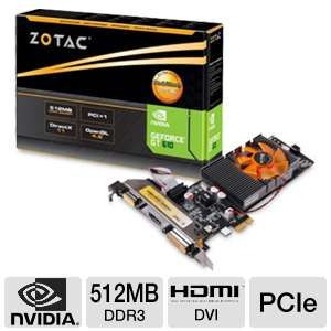 ZOTAC GeForce GT 610 512 MB DDR3 Video Card