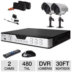 Zmodo 4CH DVR Security System Kit
