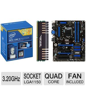 Intel Core i5-4570 Processor Bundle